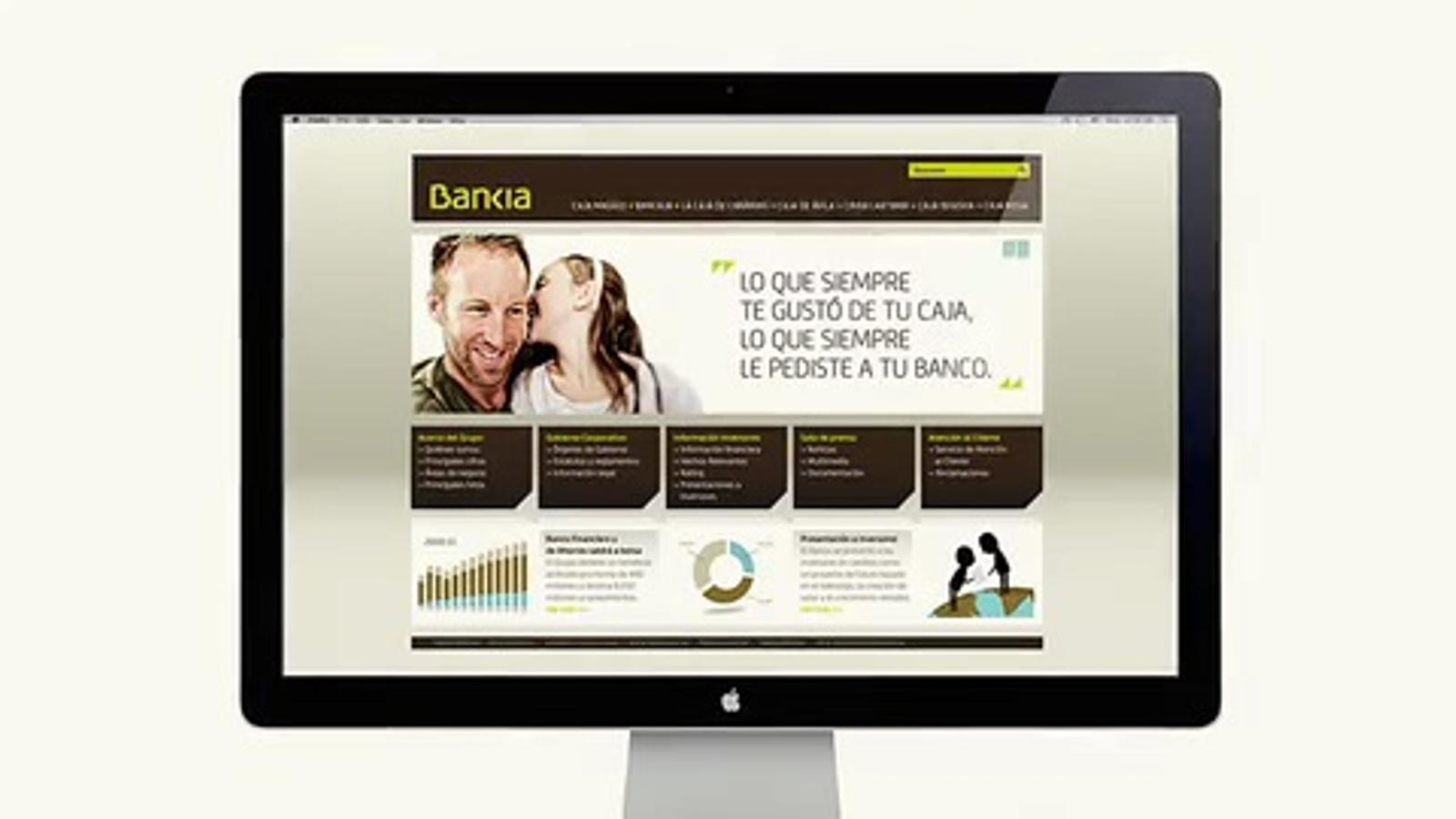 L'anunci de Bankia