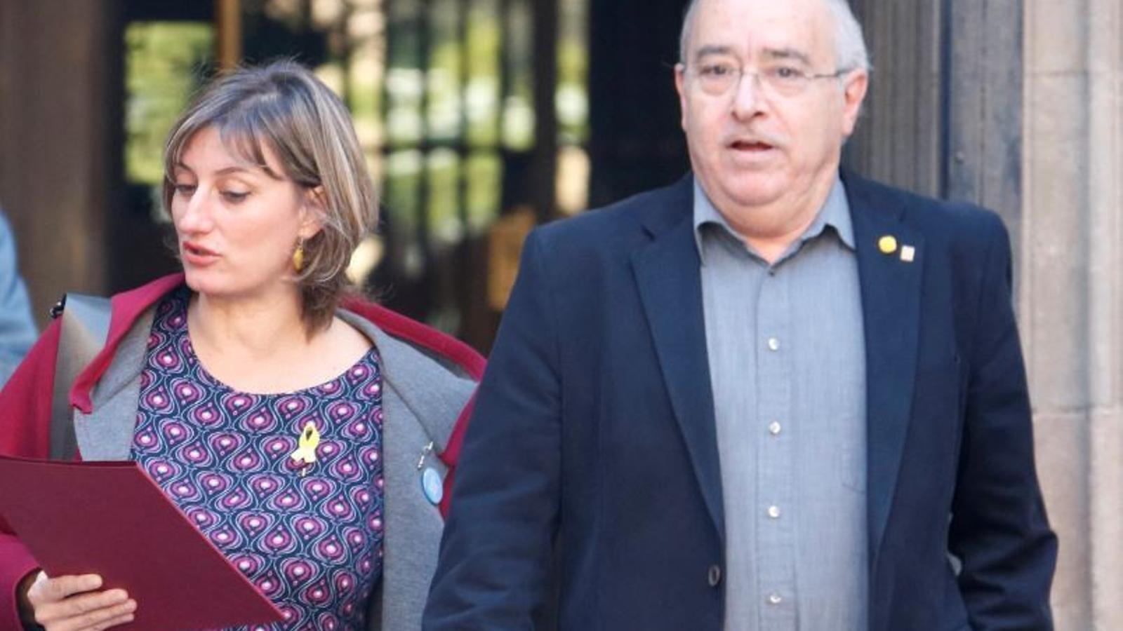 EN DIRECTE: Vergés, Bargalló i Argimon expliquen el pla de retorn a les escoles