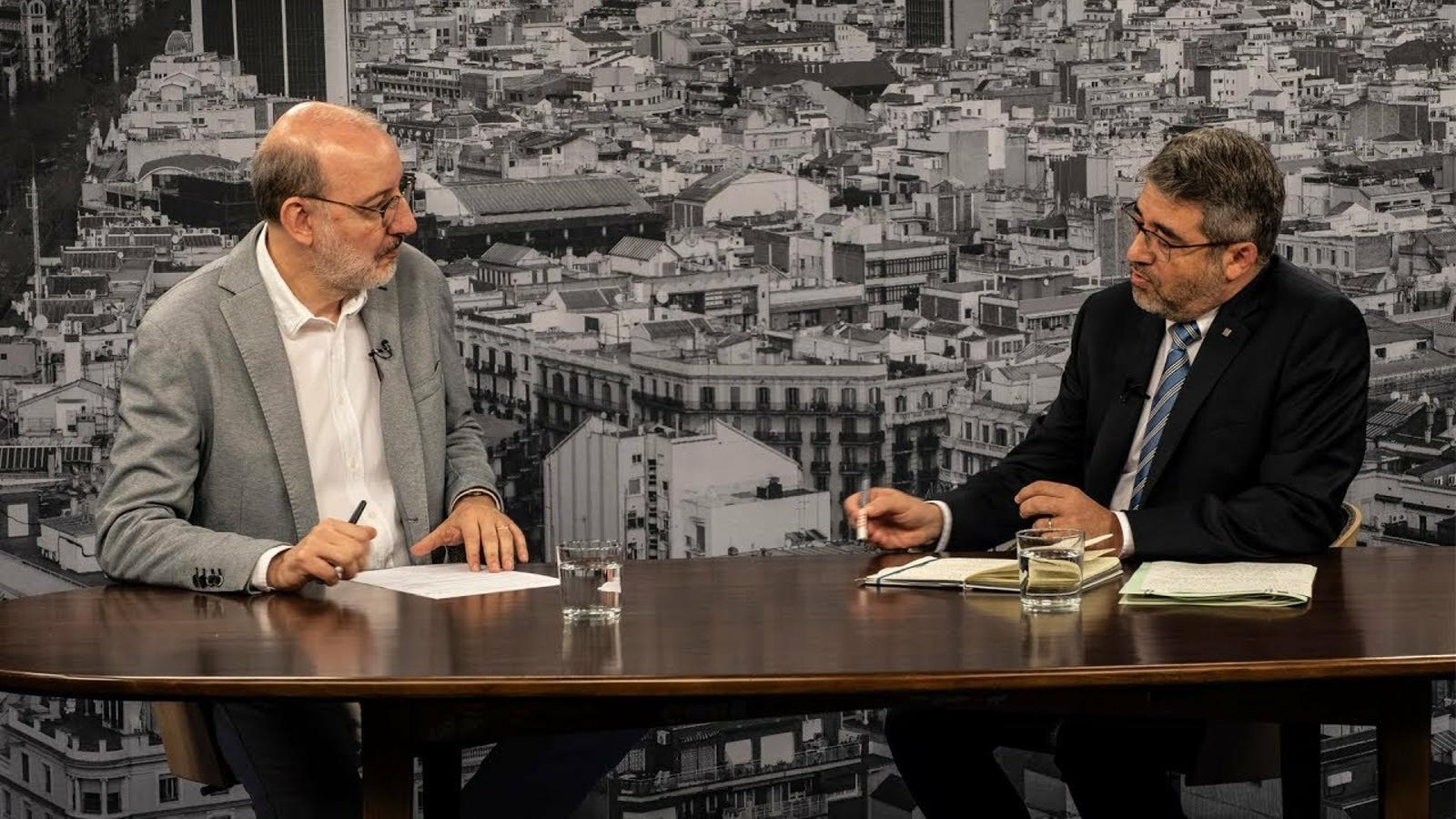 Entrevista d'Antoni Bassas a Andreu Martínez