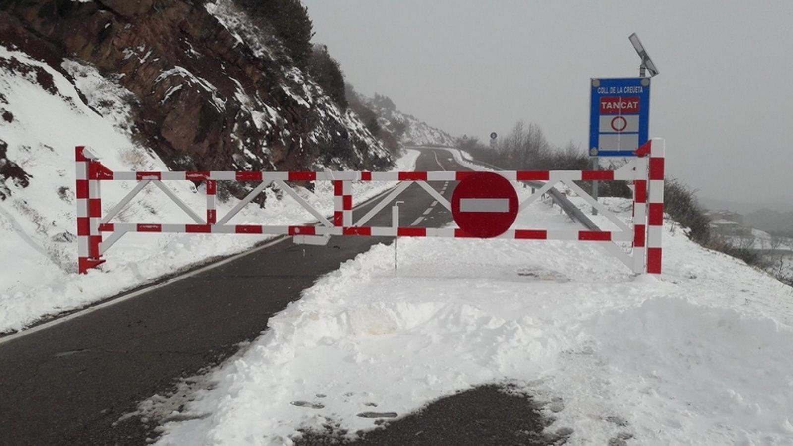 La nevada deixa gruixos importants al Pirineu i enfarina altres indrets