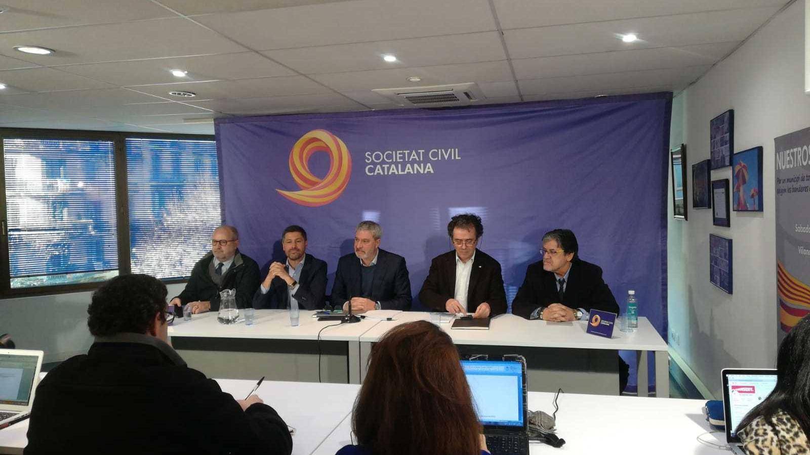 José Ramon Bosch es presenta com a nou president de SCC després de la destitució de José Rosiñol