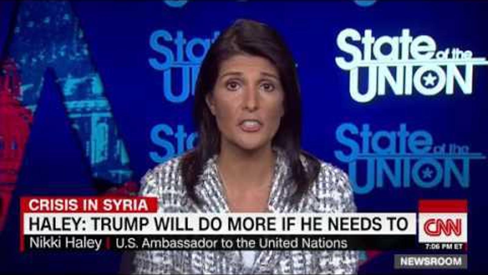 Els Estats Units creuen que la sortida d'Al-Assad de Síria és prioritària