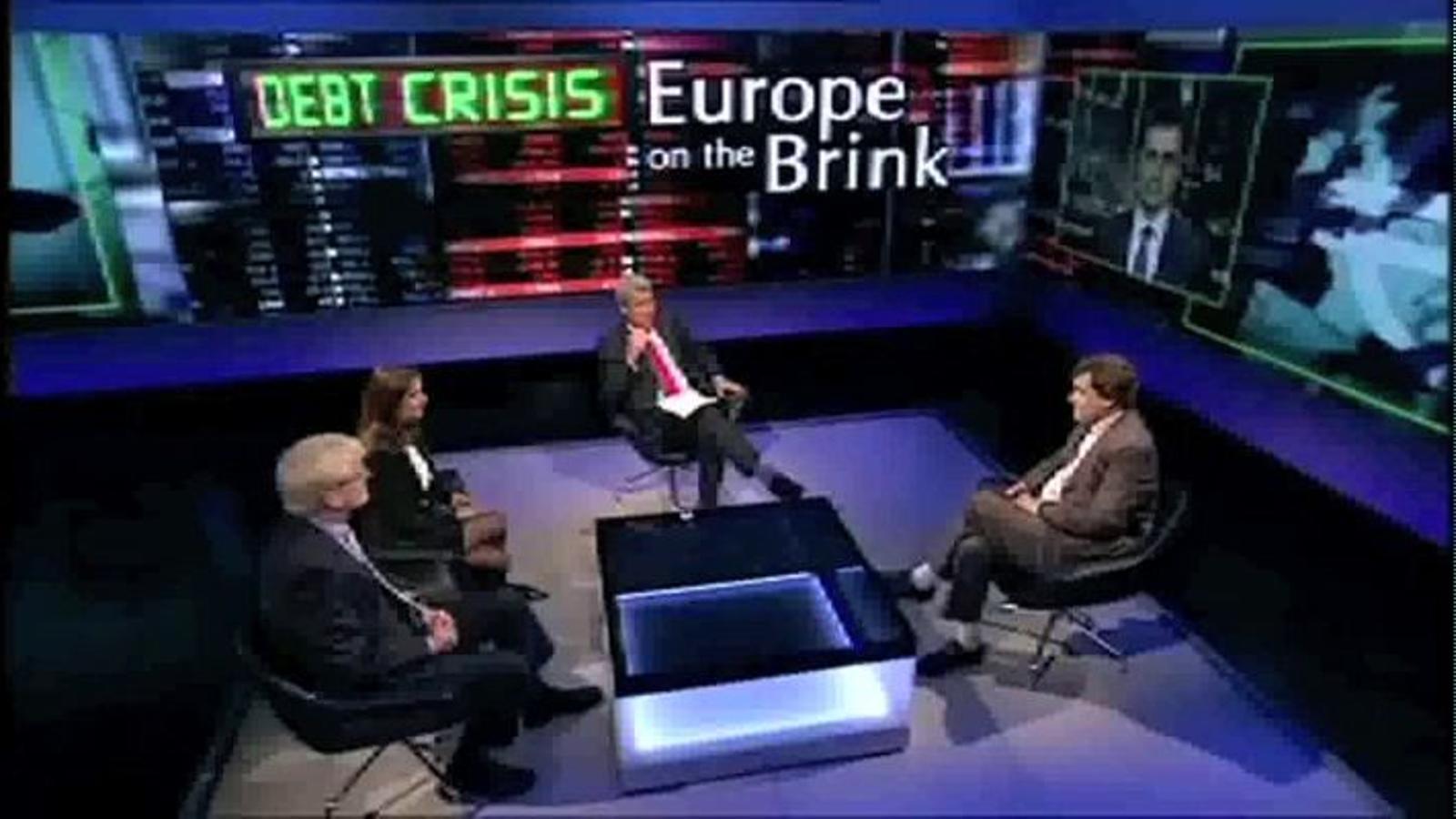 Presentador de la BBC a Amadeu Altafaj, portaveu econòmic de la Comissió Europea: Idiota de Bussel·les: què respon?