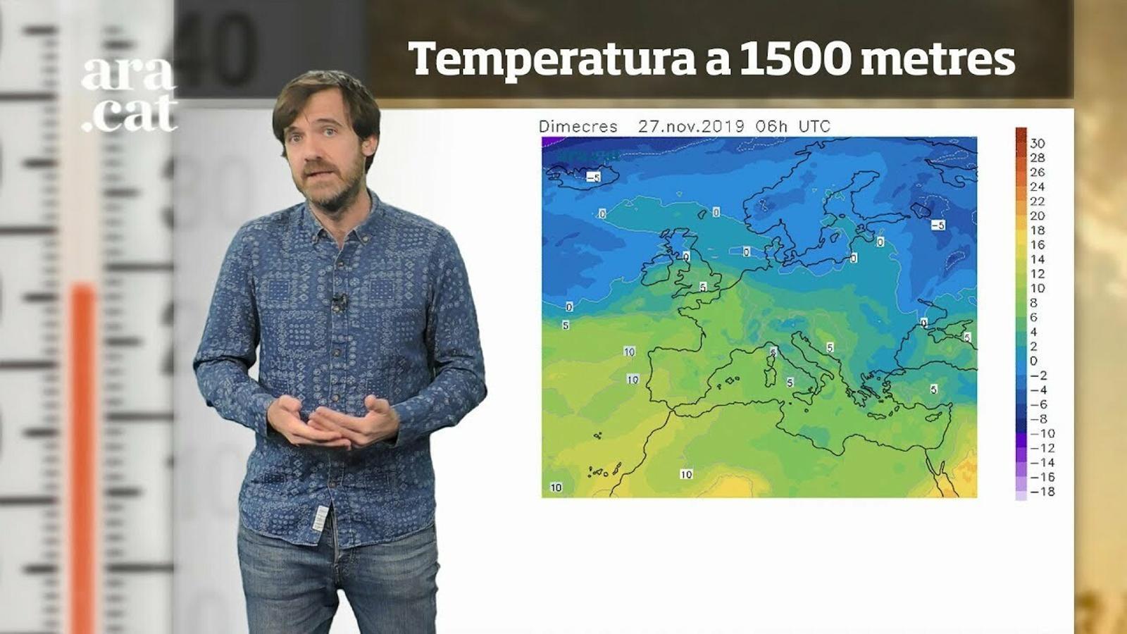 La méteo en 1 minut: noves pluges a la vista