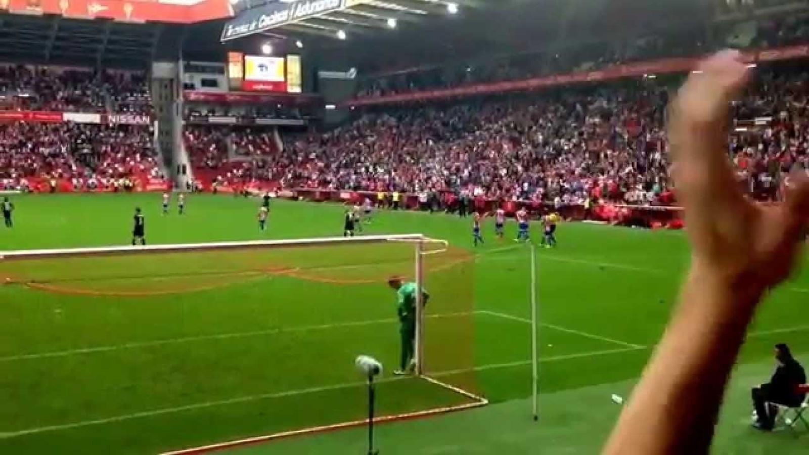 Gol de Carlos Castro