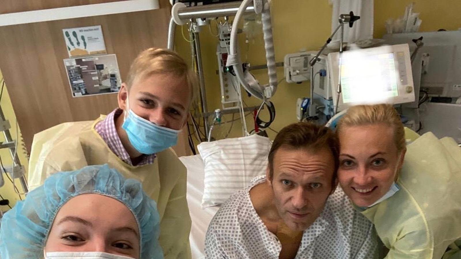 Navalny en una imatge que ha penjat al seu instagram