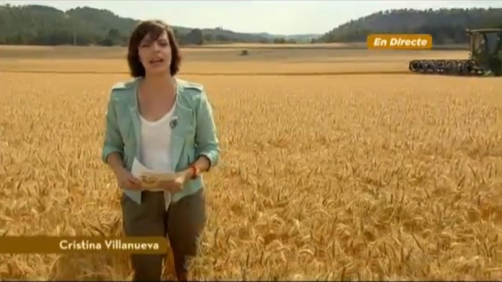 L'anunci de Tarradellas a l'estil d'una connexió en directe d'un telenotícies