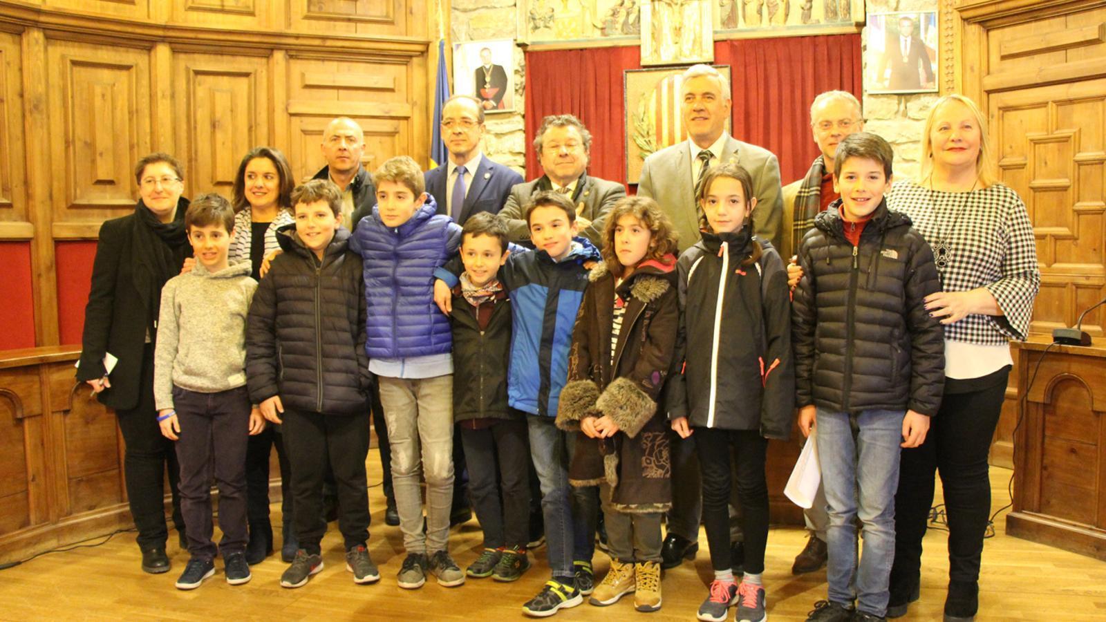 El comú de Sant Julià de Lòria ha constituït el desè Consell d'infants de la parròquia. / E. J. M. (ANA)