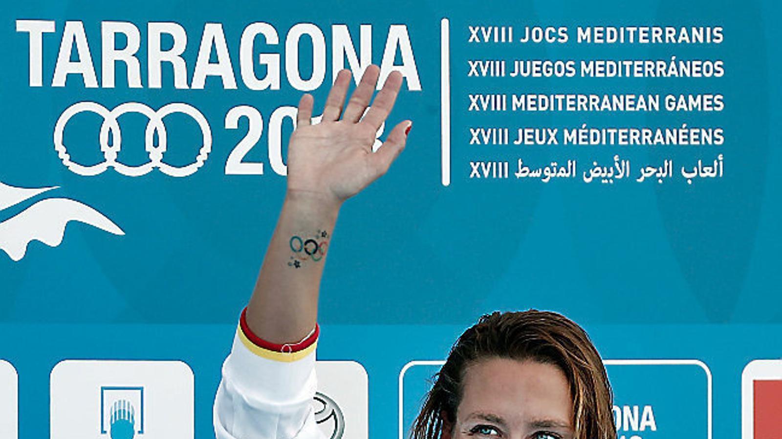 Mireia Belmonte no participarà a l'Europeu de natació per vertigen