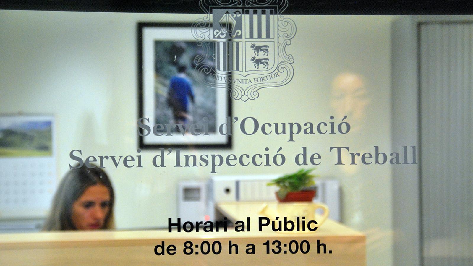 Una imatge de les oficines del Servei d'Ocupació. / ARXIU ANA