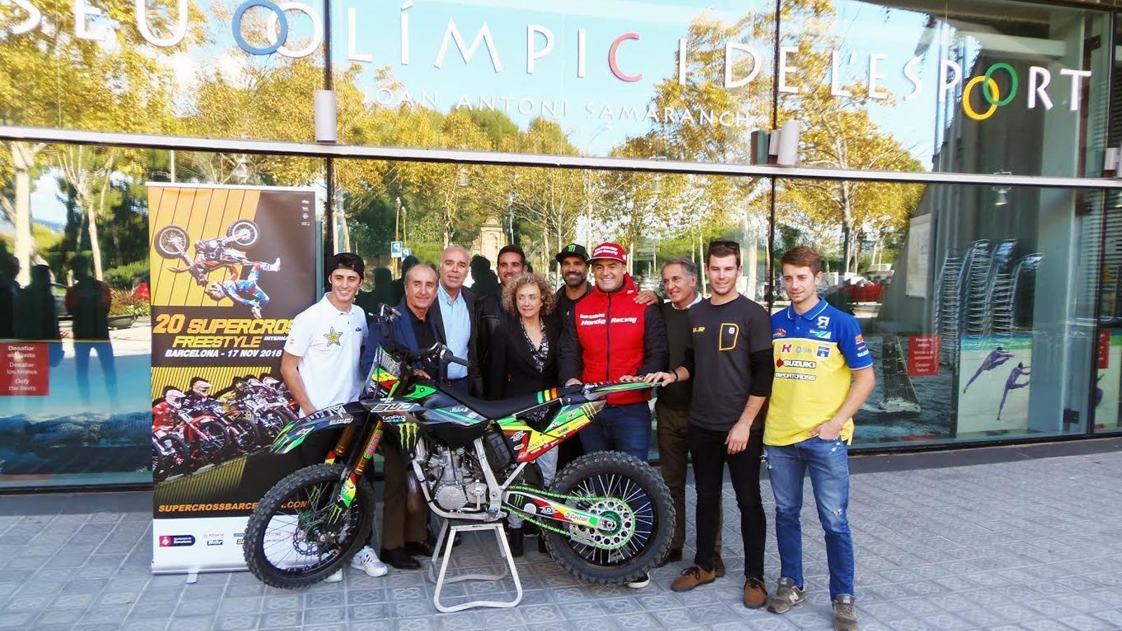 Presentació del 20è Supercross & Freestyle de Barcelona