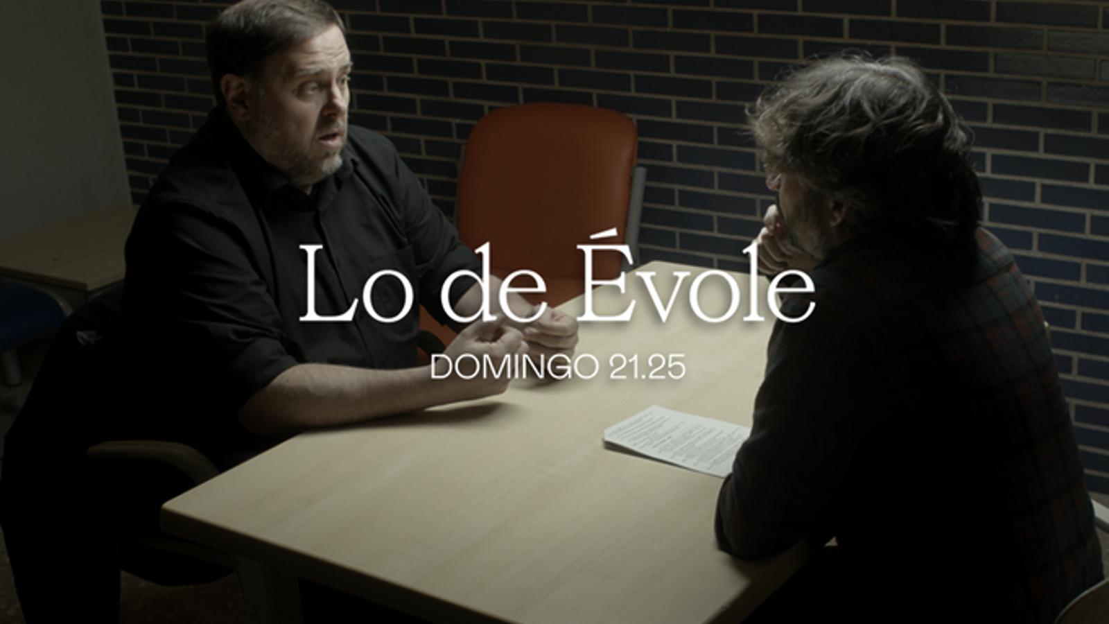 Jordi Évole entrevistarà Oriol Junqueras a Lledoners amb càmares de televisió