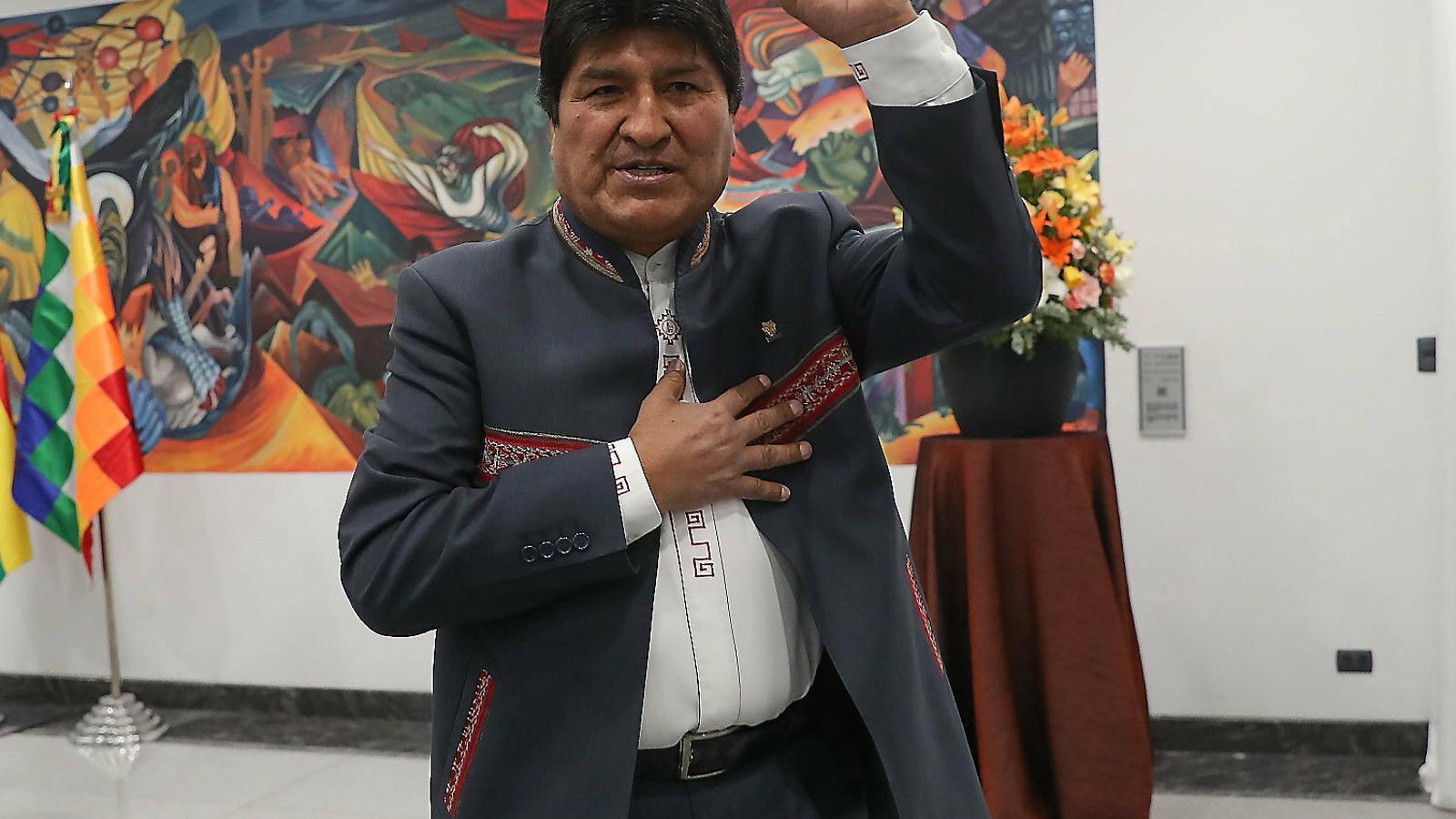 Una casa i vigilància del govern de Mèxic per a l'expresident bolivià