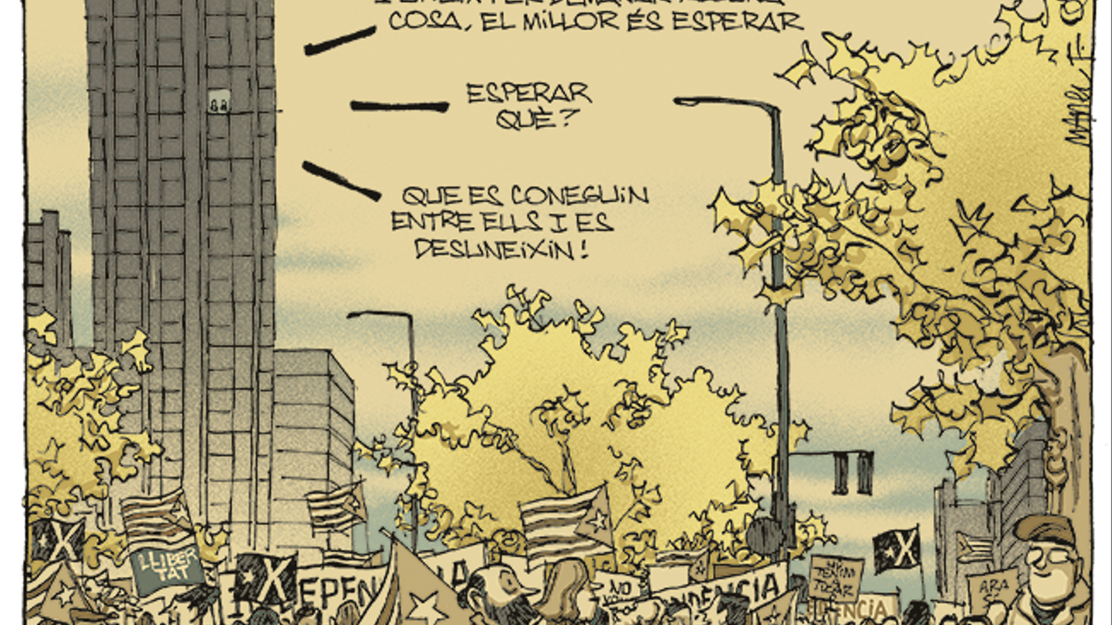 La vinyeta de Manel Fontdevila 29/11/2020