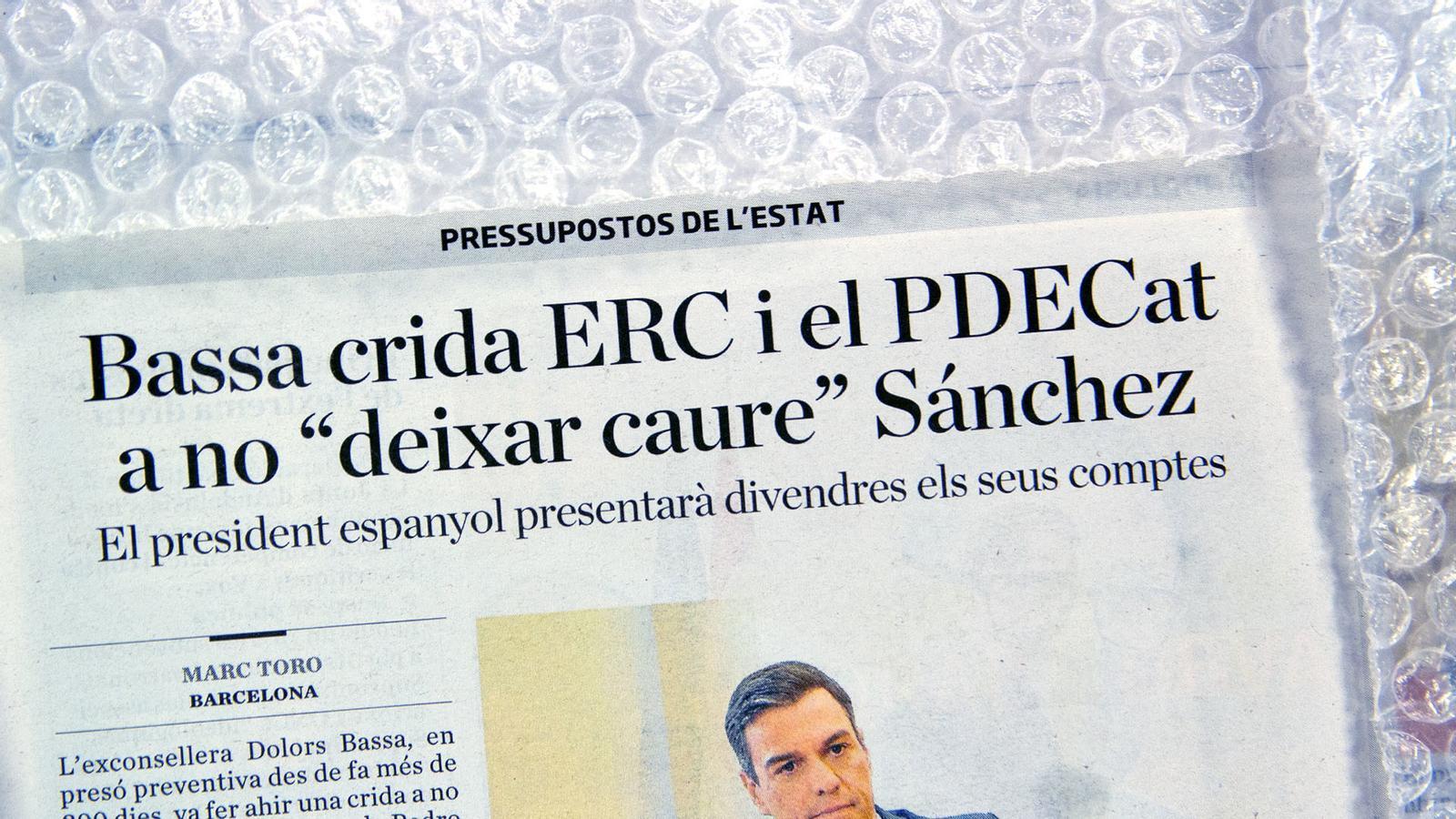 L'anàlisi d'Antoni Bassas: 'Si tu no salves Sánchez ells tornen o que no ens tornin a venir amb la mateixa cançó?'