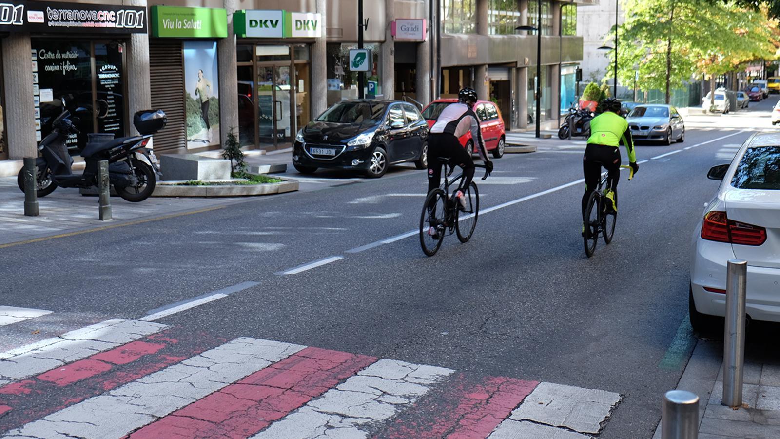 Una imatge del carrer Prat de la Creu. / ARXIU ANA