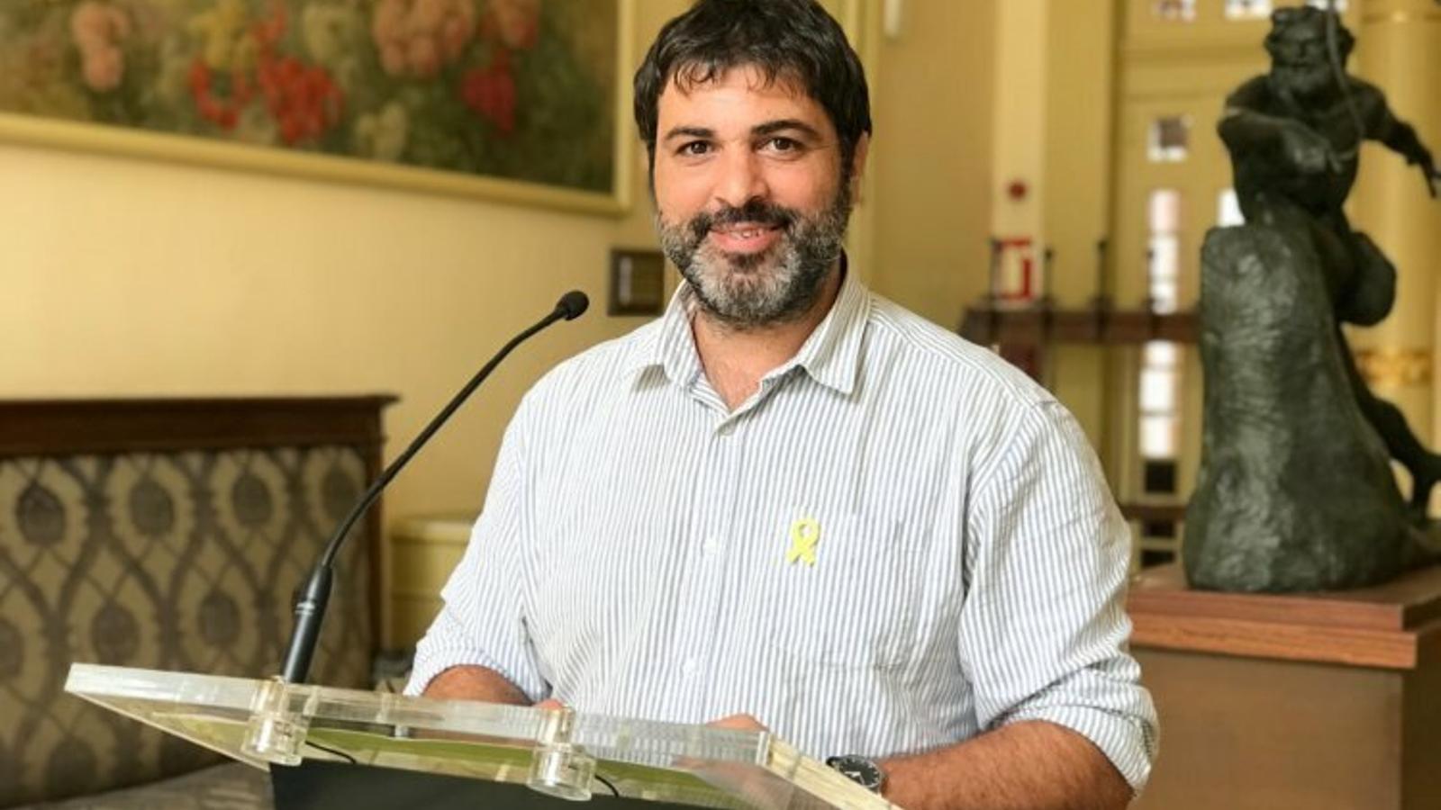 El diputat de MÉS per Mallorca, Josep Ferrà
