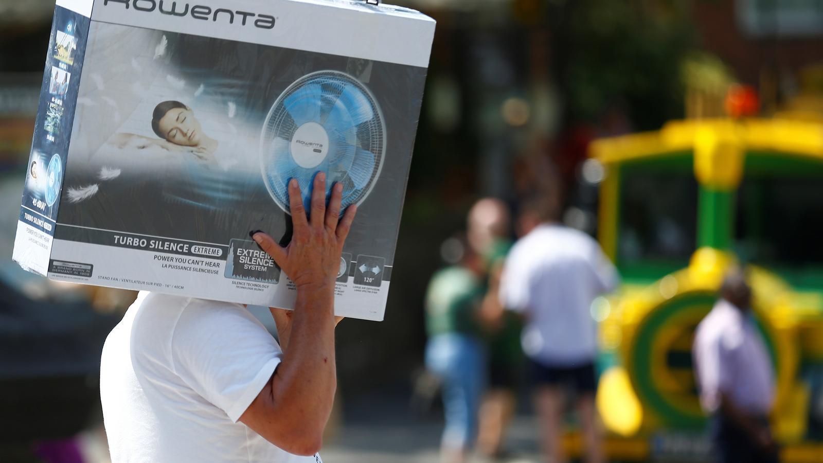 Mitja Europa per sobre els 40 graus en un dia de calor històrica