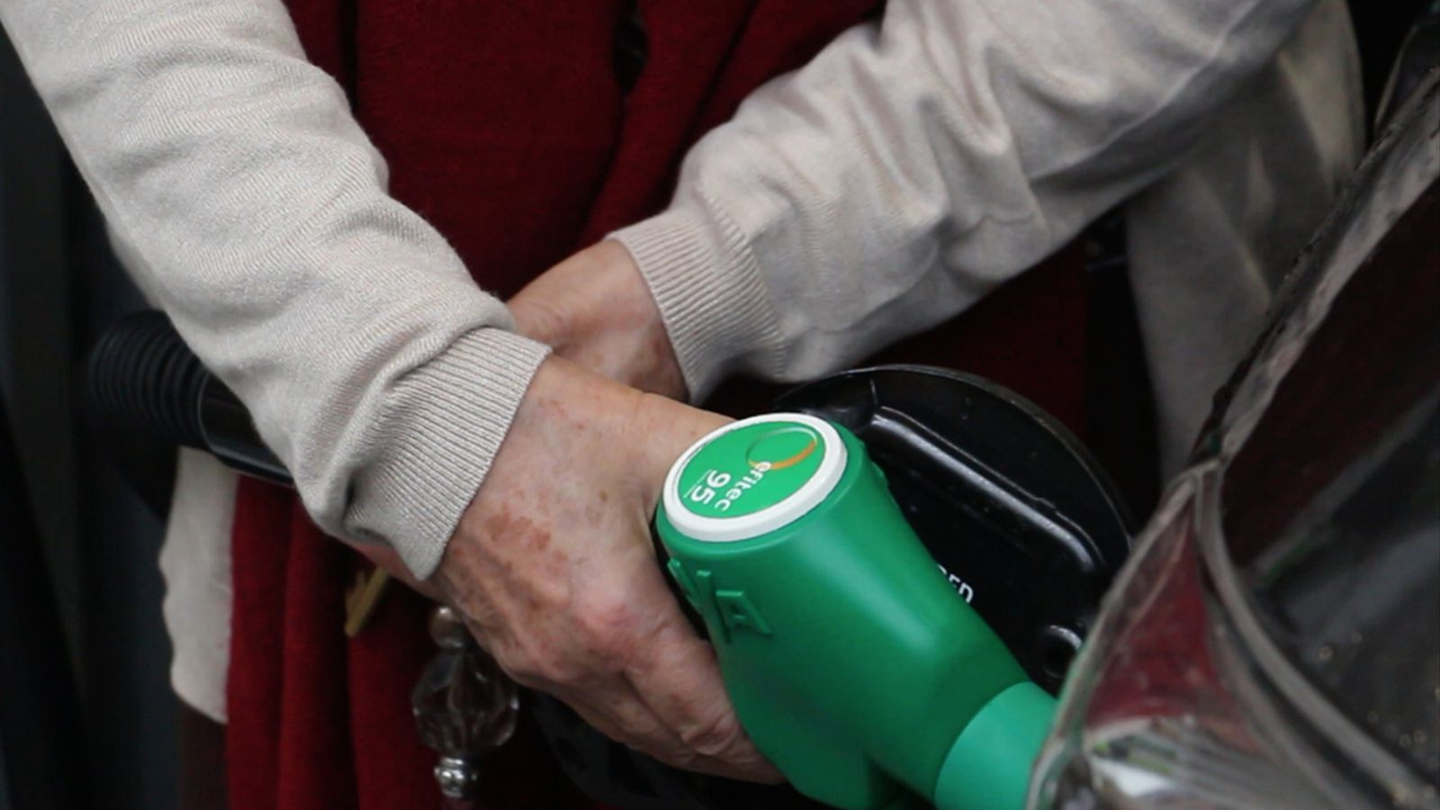 Sortidor de benzina / ANA