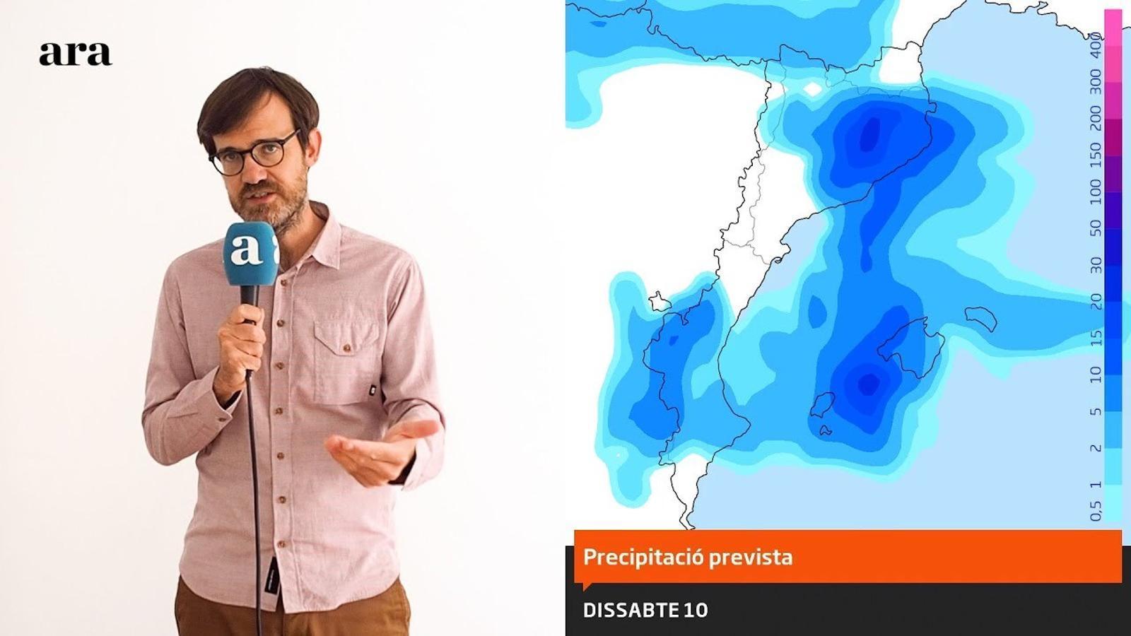 La méteo: temps més insegur a l'espera que dissabte plogui amb més ganes