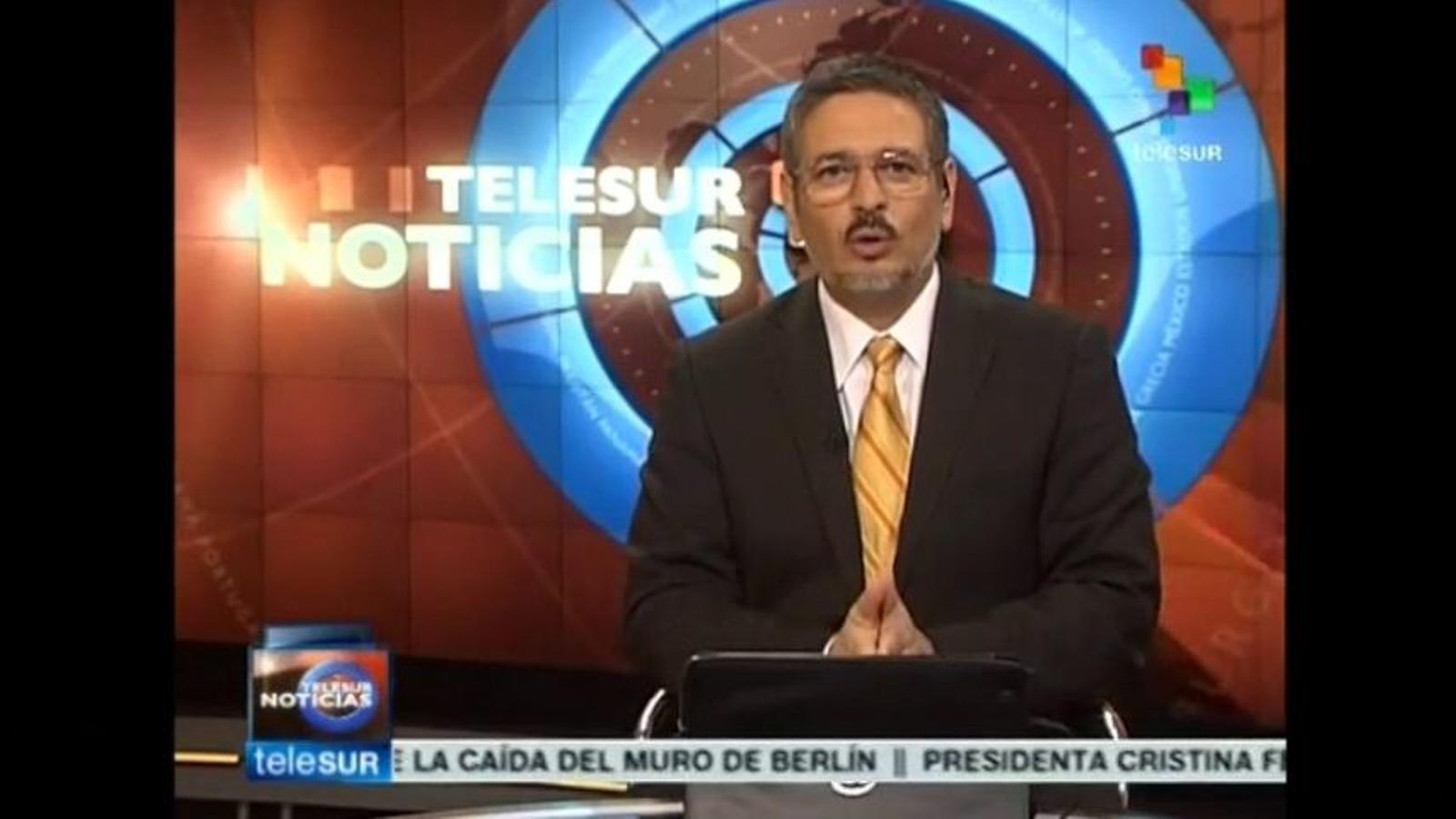 TeleSur, sobre el 9-N: El 80% de dos milions de catalans voten pel 'sí' sobiranista