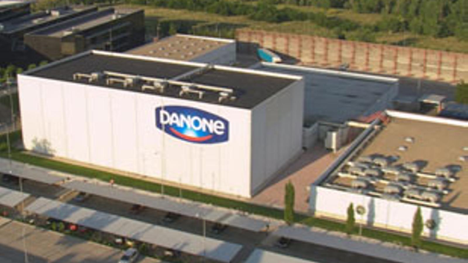 Una de les fàbriques de Danone a l'Estat./ DANONE