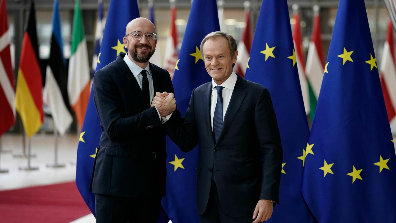 Charles Michel agafa el relleu de Donald Tusk al capdavant del Consell Europeu