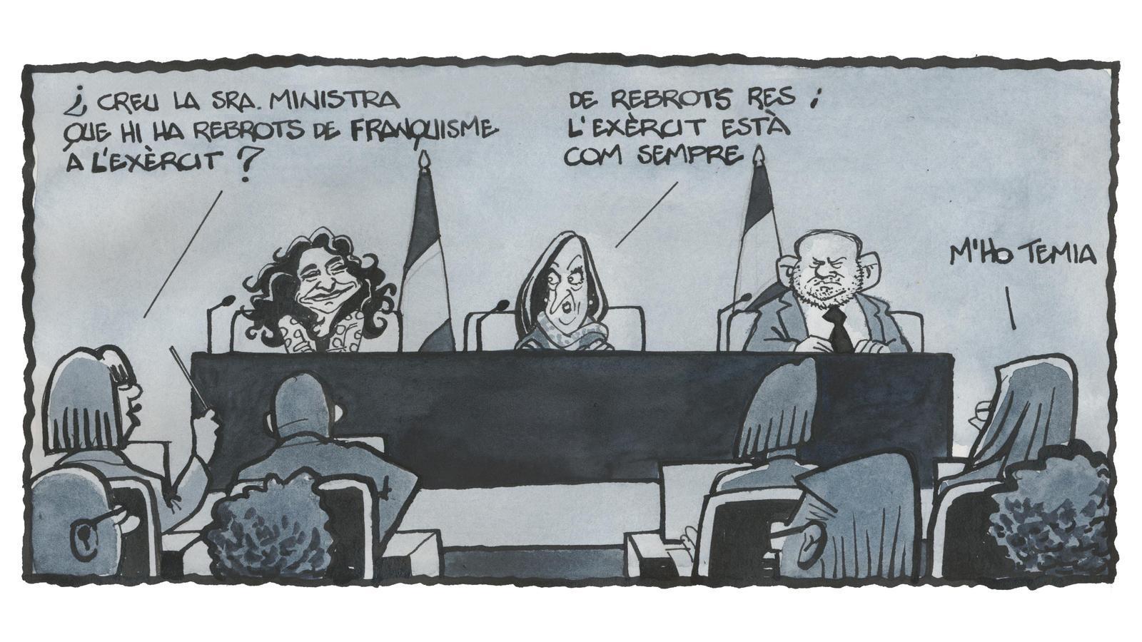 'A la contra', per Ferreres 09/01/2021