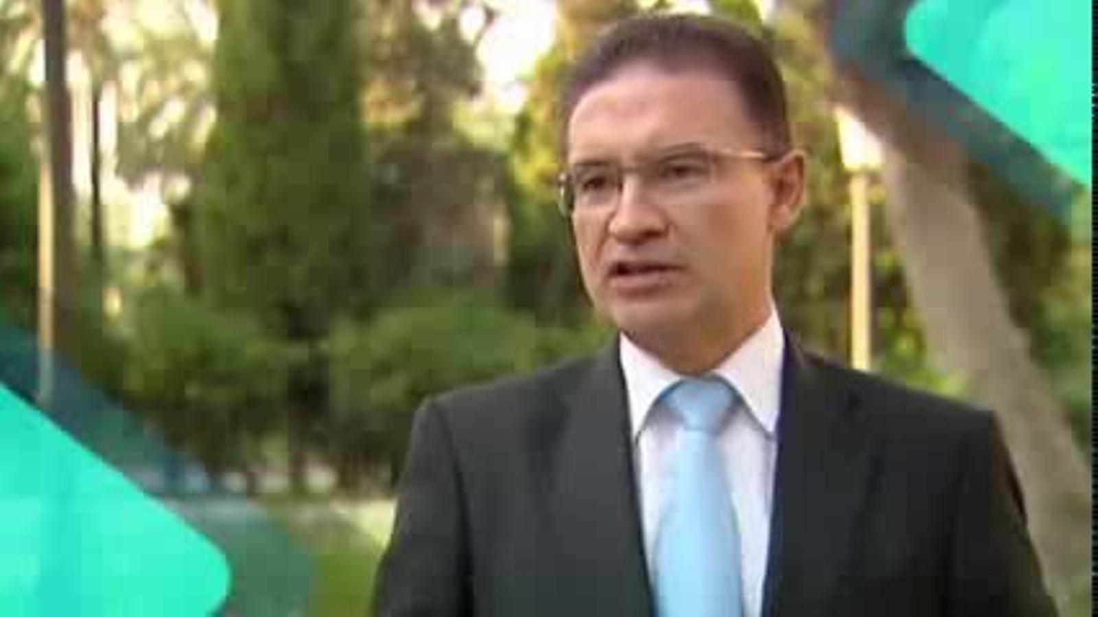 Serafín Castellano, número dos del PP valencià, fa un mes: Televisió Valenciana, si no estiguera hauria que inventar-la