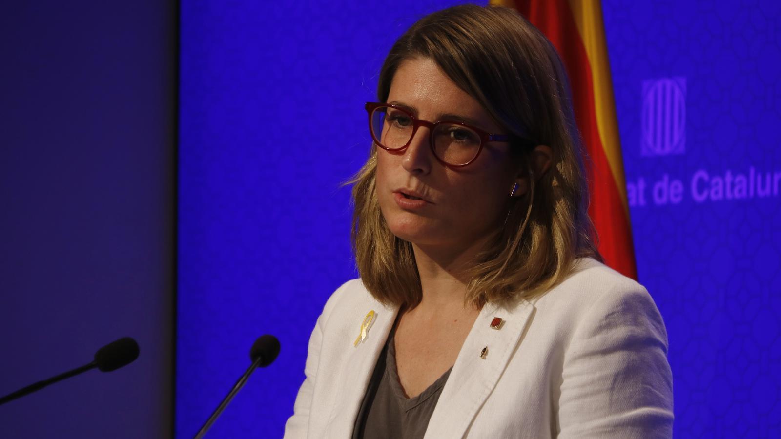 La Generalitat es persona al Tribunal Constitucional en contra del 155