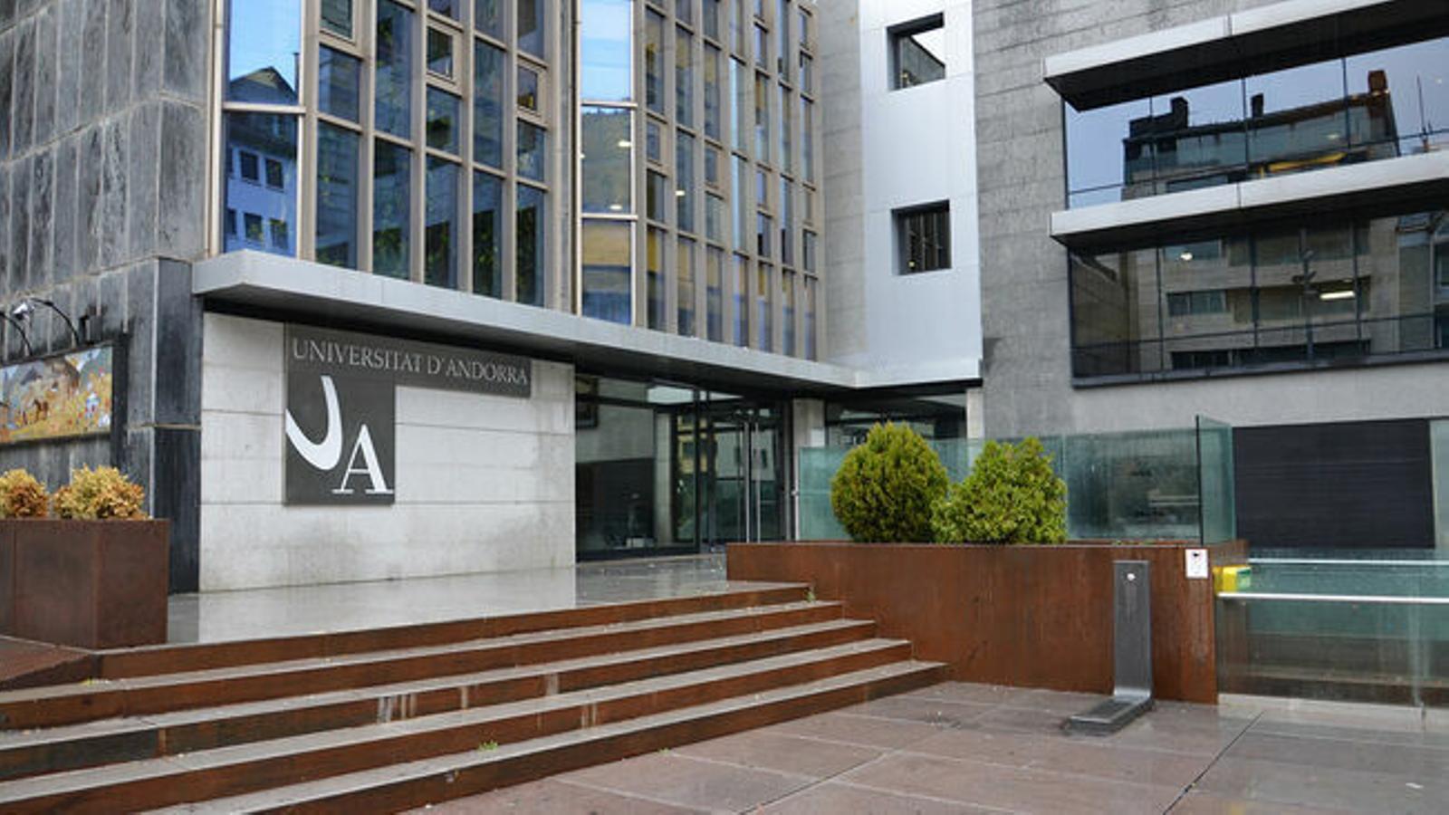 La Universitat d'Andorra. / ARXIU