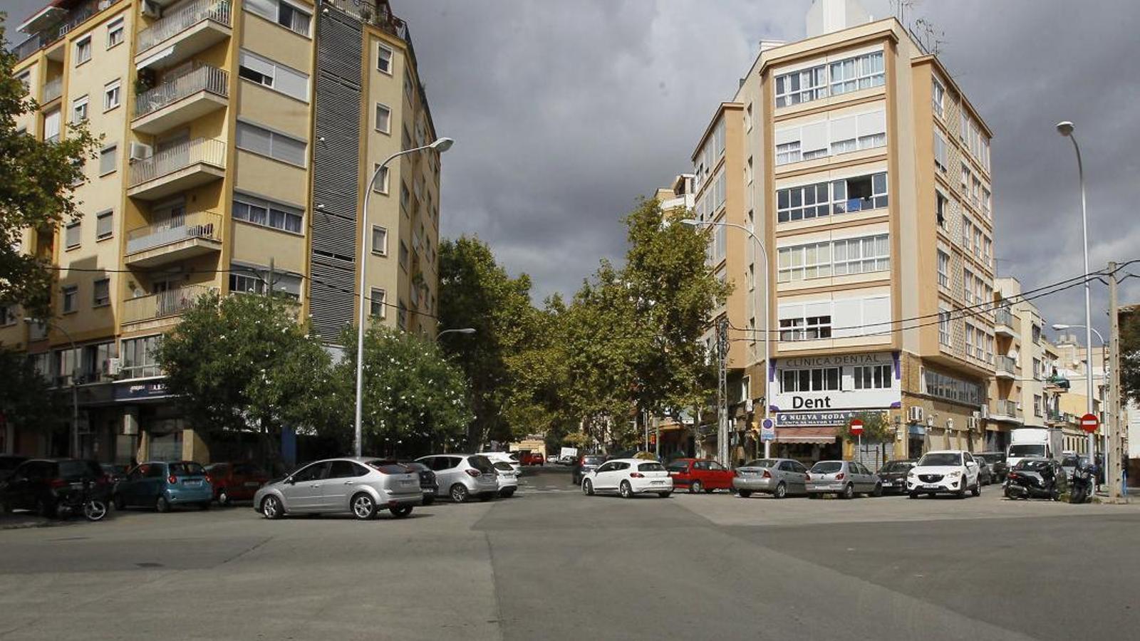 Pere Garau va sorgir arran de la demolició de les muralles i l'eixamplament de Palma.