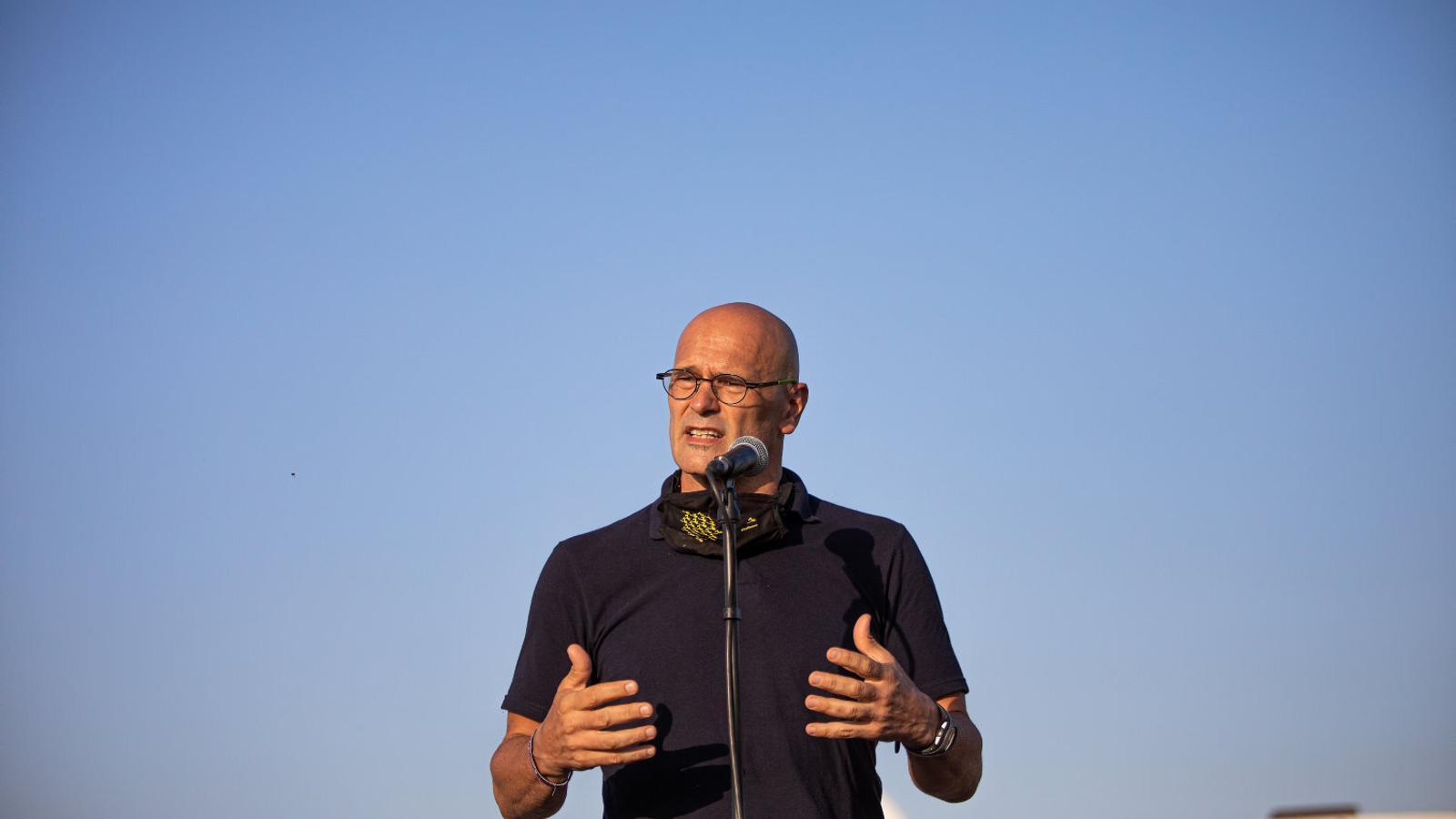 """Raül Romeva: """"Estic segur que les pròximes eleccions aniran de més coses que d'independència"""""""