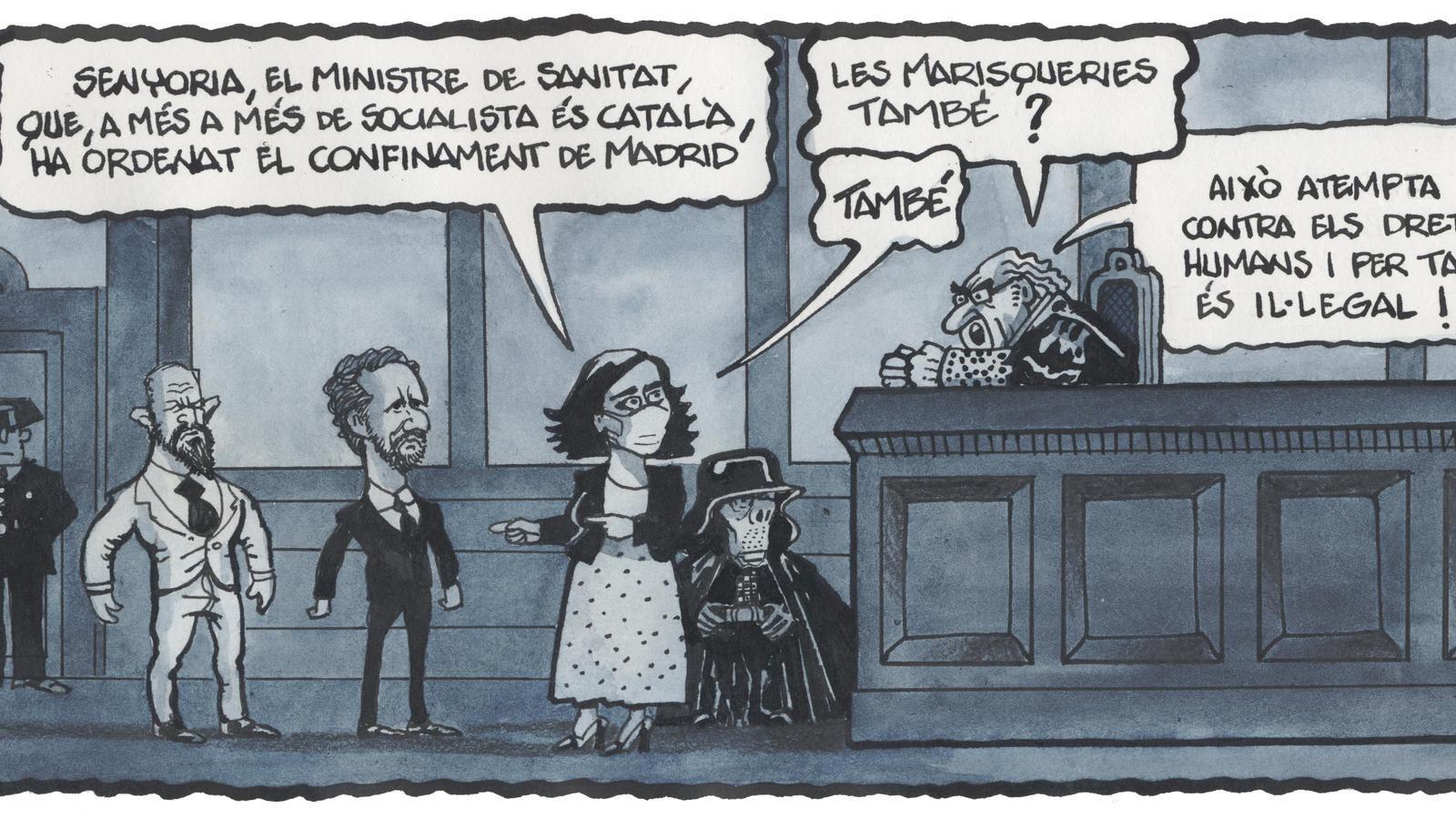 'A la contra', per Ferreres 10/10/2020