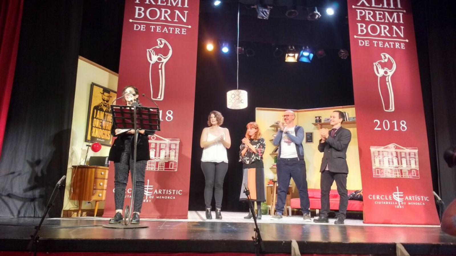 L'acte de lliurament del Premi 2019 tindrà lloc a les 21 hores de dissabte al Teatre de Ciutadella.