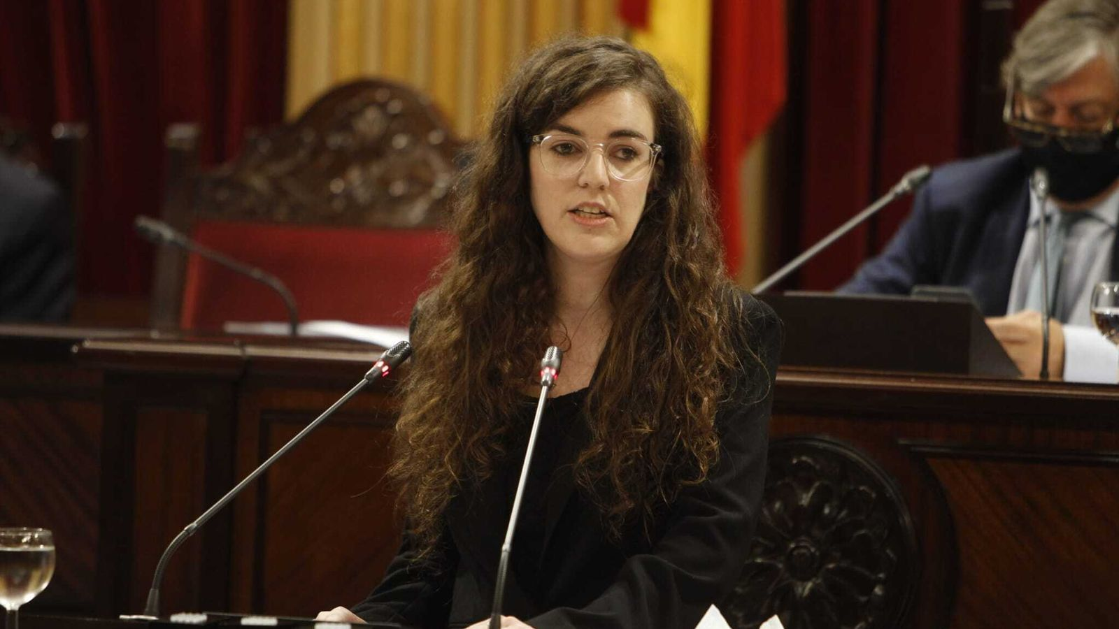 La diputada de Podem, Esperança Sans