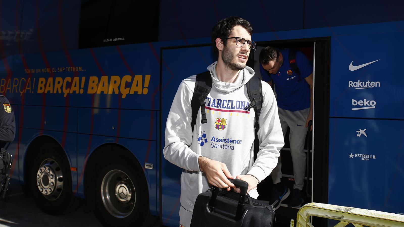 Àlex Abrines, jugador del Barça