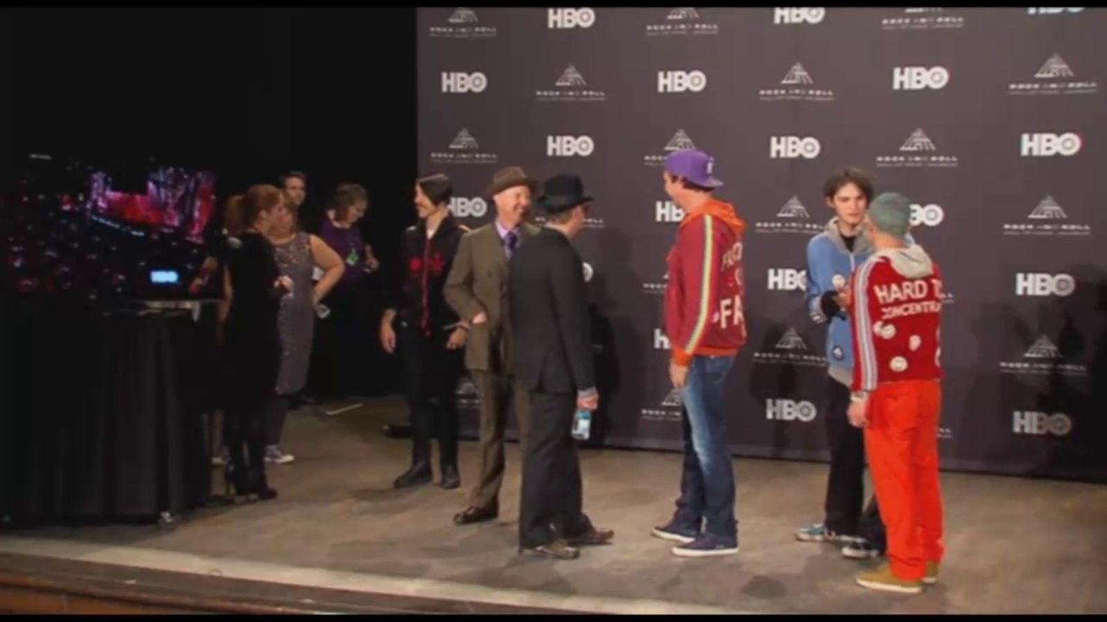 Red Hot Chilli Peppers entra al Saló de la Fama del Rock