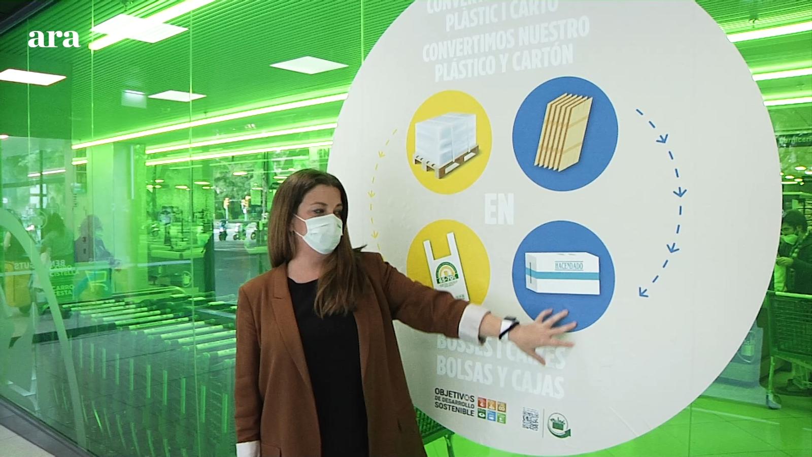 Com es es pot reduir el plàstic a les botigues? Amb el suport de Mercadona