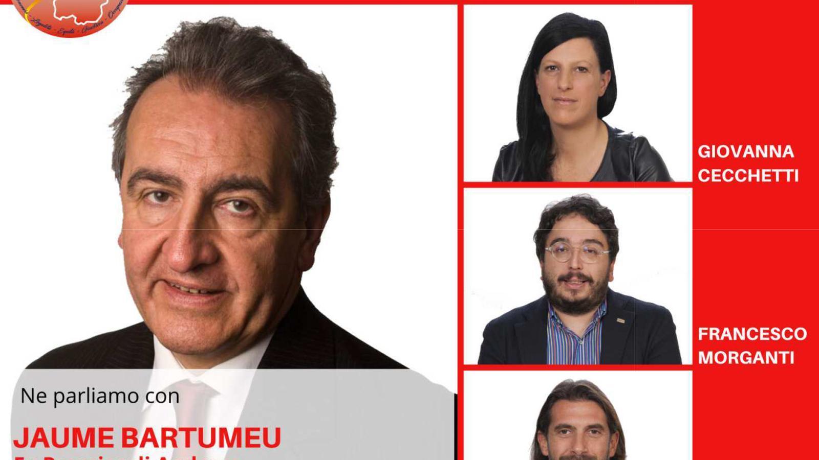 El cartell electoral. / SDP
