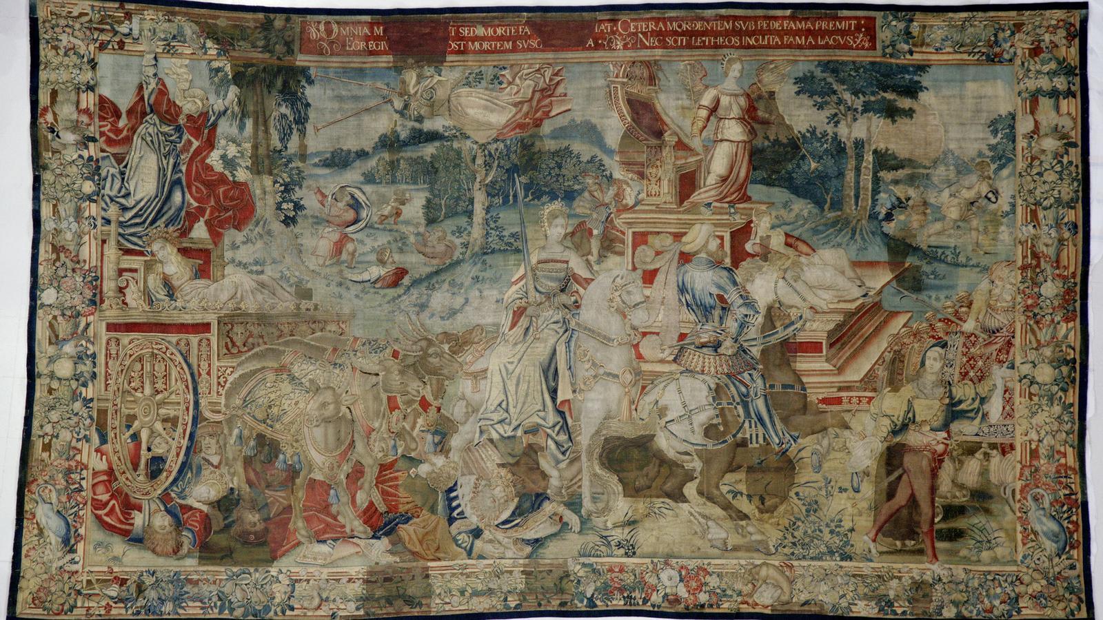 'El Triomf de la Fama sobre la Mort' / MNAC