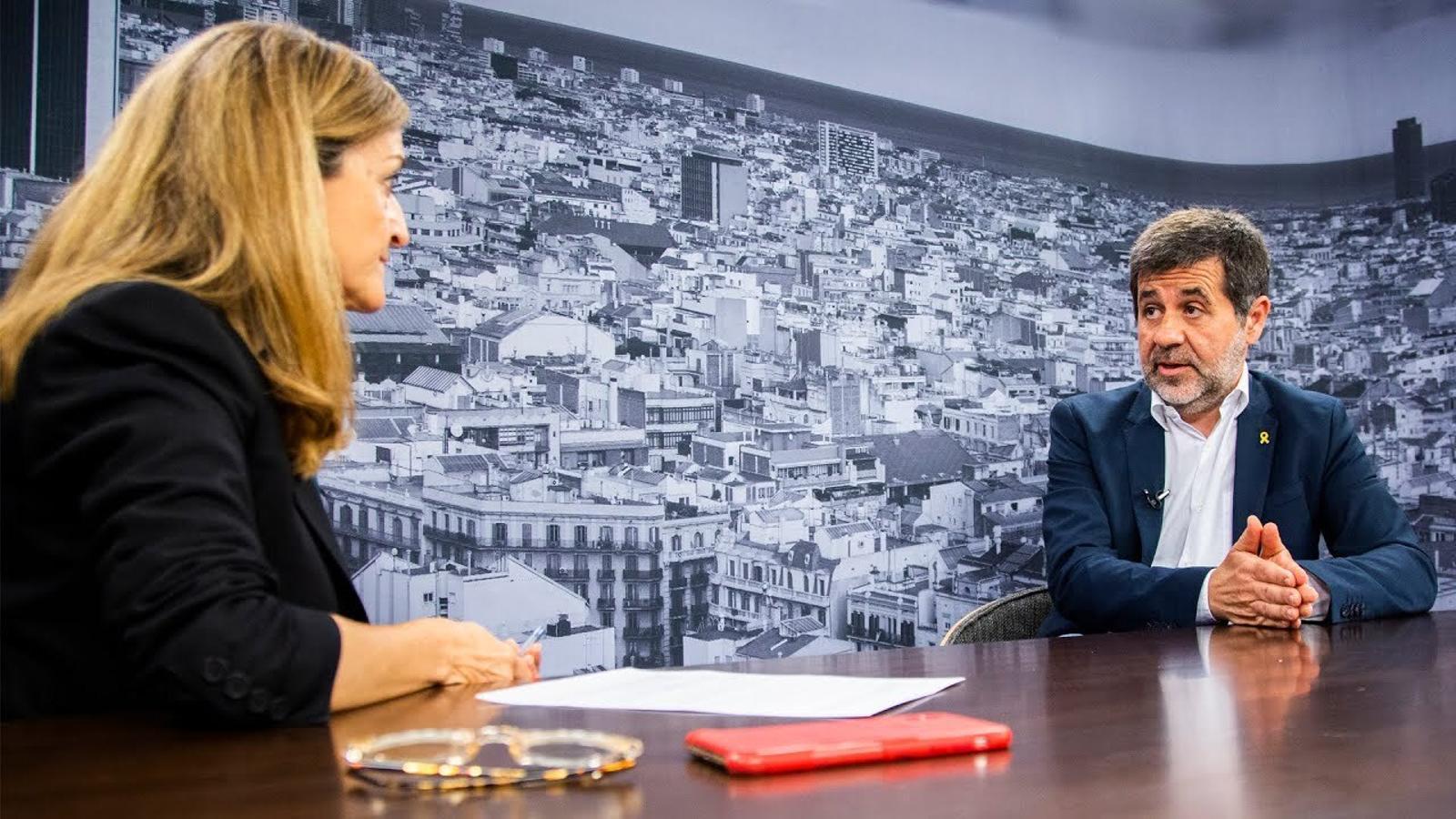 Entrevista d'Esther Vera a Jordi Sànchez
