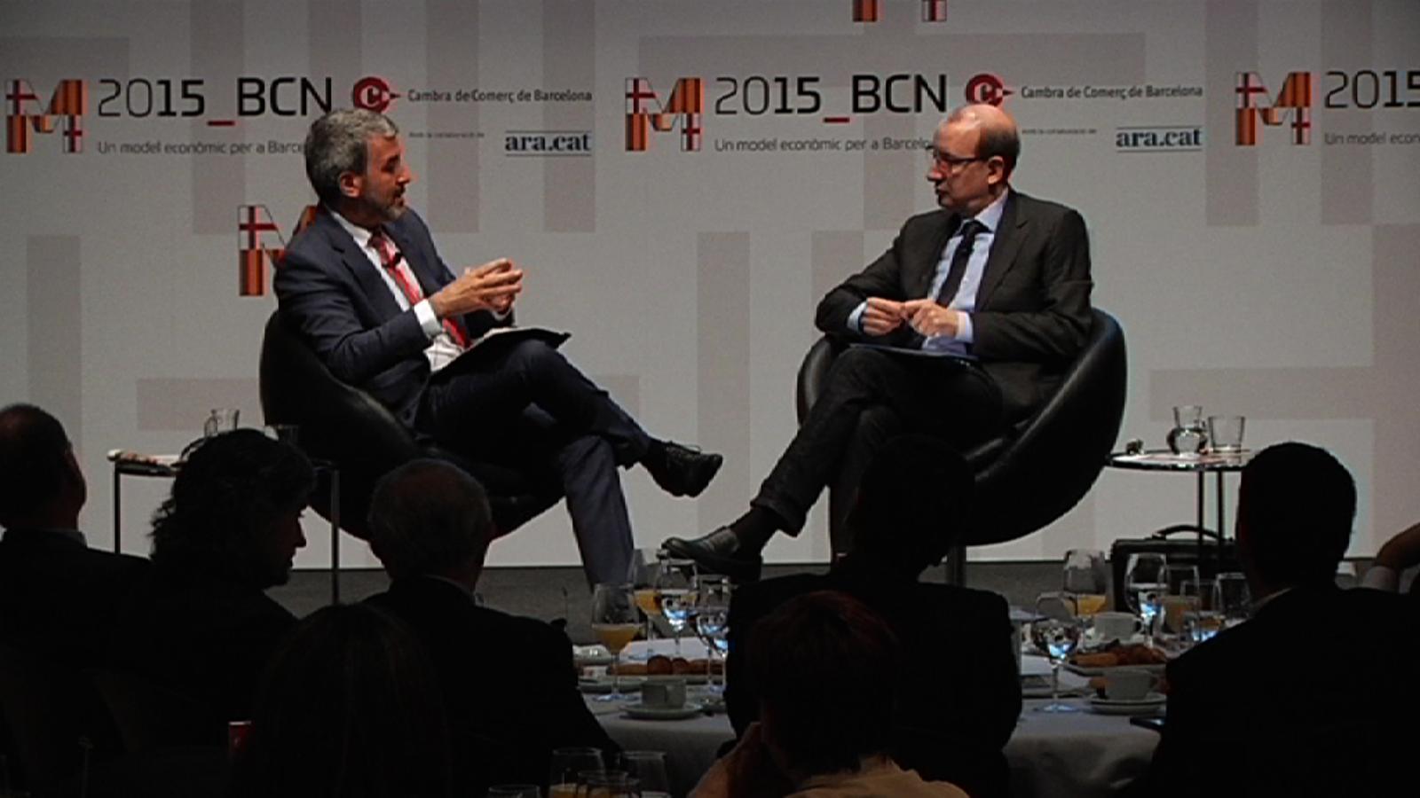 Jaume Collboni: Colau no fa por però genera moltes incerteses