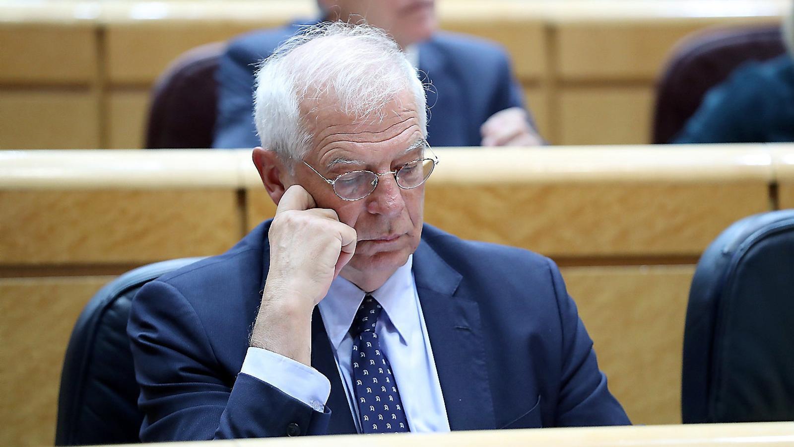 Josep Borrell ja havia estat imputat per  la seva gestió  al capdavant d'Abengoa.