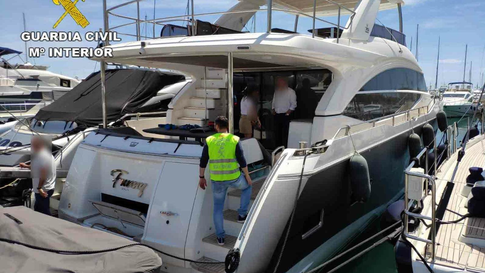 Recuperen a Turquia un iot de 3,5 milions d'euros robat a Palma