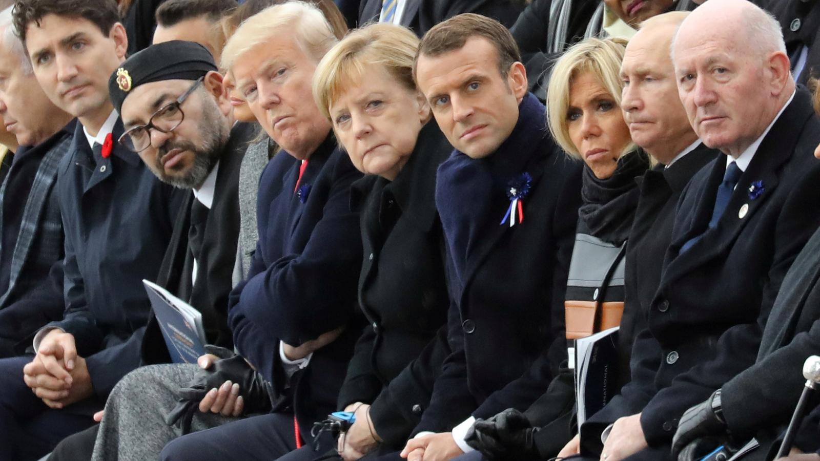 Netanyahu, Trudeu, Mohamed VI, Trump, Merkel, Macron i Putin.