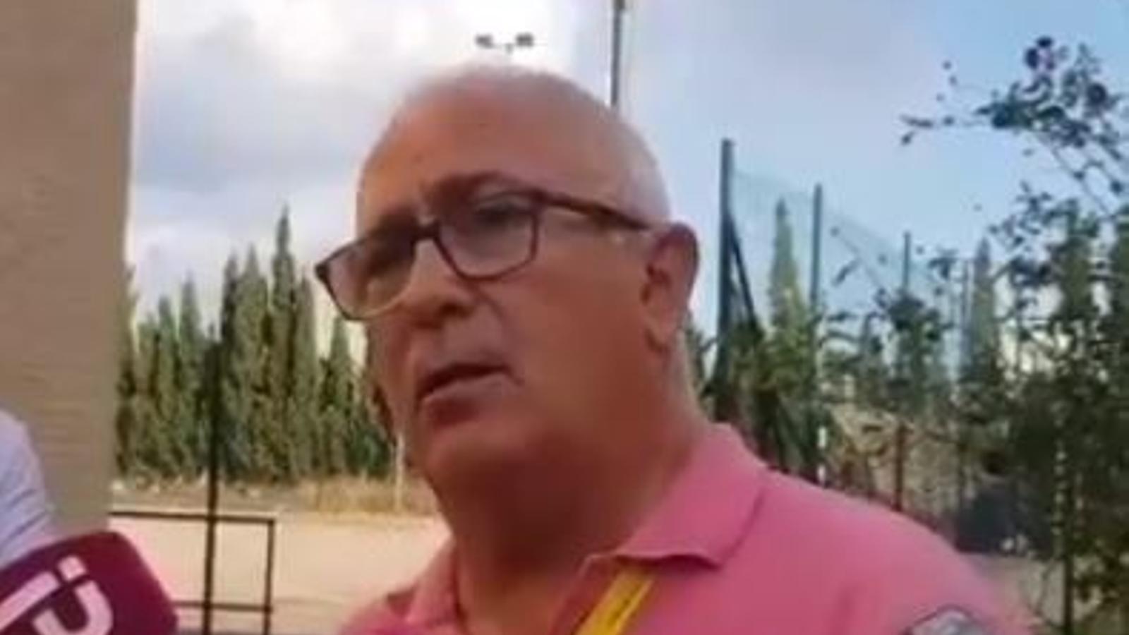 """Pere Perelló: """"Lamentam que de moment no hi ha informació ni pistes"""""""
