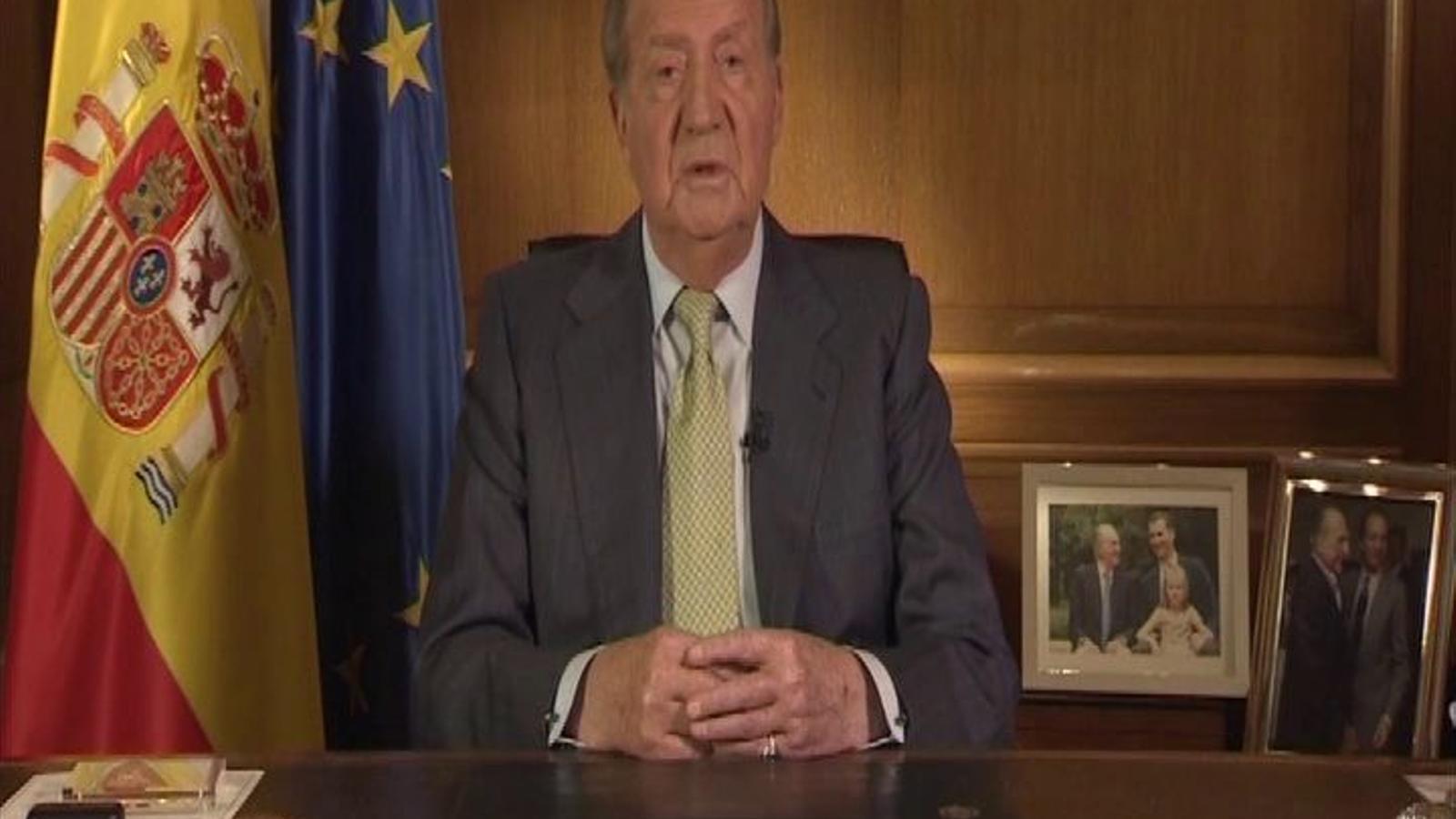 El discurs d'abdicació del rei d'Espanya, Joan Carles I