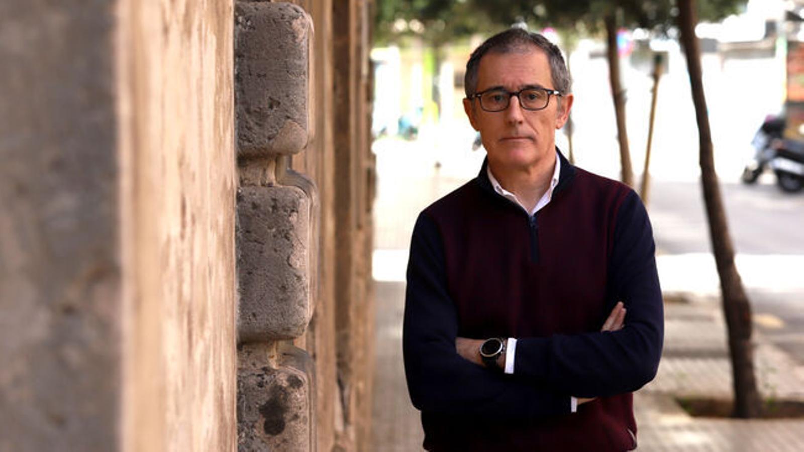 El portaveu de la Conselleria de Salut en la gestió de la crisi del covid-19, Javier Arranz.