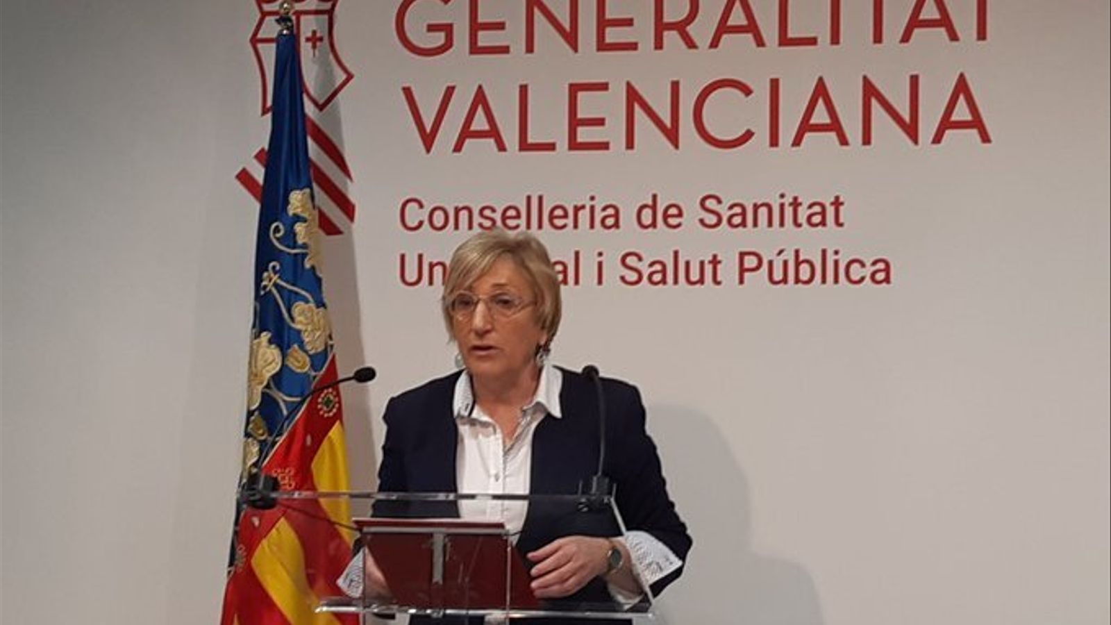 La consellera de Sanitat Universal i Salut Pública, Ana Barceló, en una imatge d'arxiu